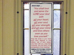 Door Post Sign