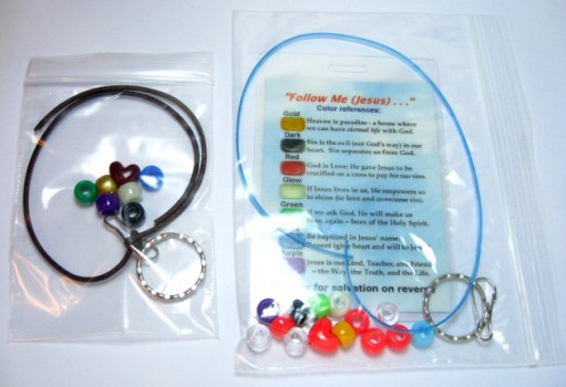Salvation Cross Key Ring / Zipper Pull Craft Kits