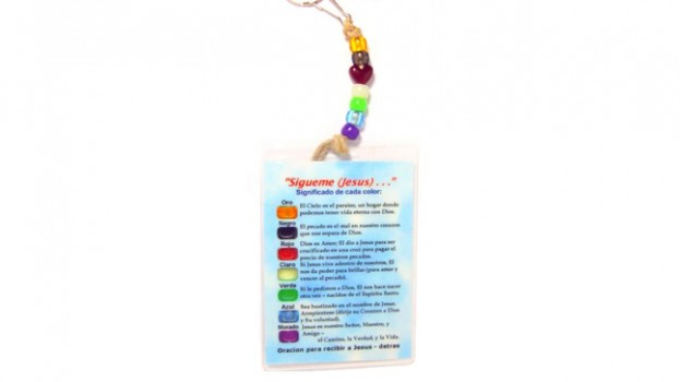 Salvation Key Rings / Zipper Pulls GENUINE LEATHER CORD w/ Laminated Message Cards