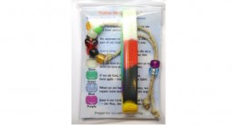 Salvation Bracelet and Salvation Silicone Wristband Gift Bags w/ Message Cards