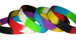 Salvation Silicone Wristbands